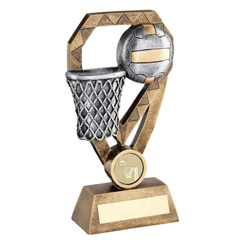 Resin Netball Diamond Trophy