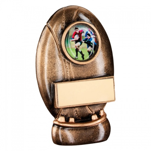 4.5in Resin Rugby Ball Award RF163