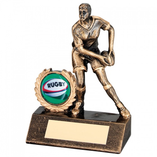 Ladies Rugby Player Trophy