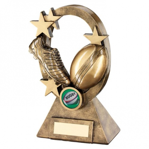 Resin Rugby Scene Trophy RF734