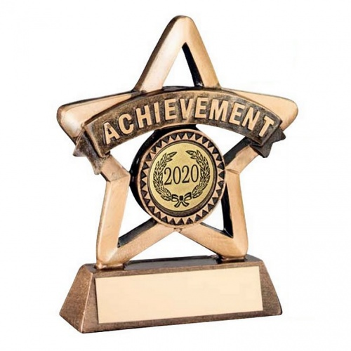Gold Star Achievement Trophy