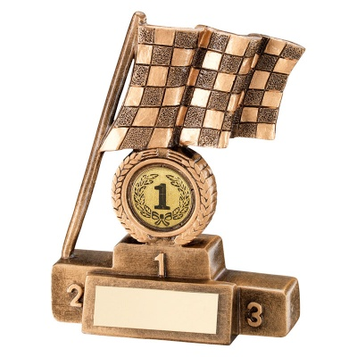 Chequered Flag Trophy First Place