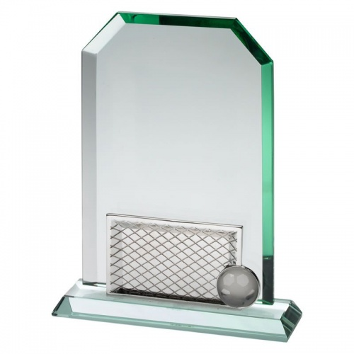 Glass Football Goalposts Award