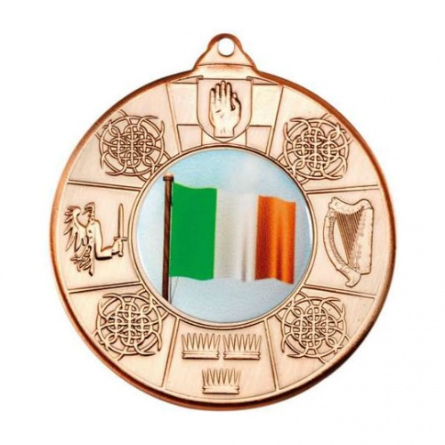 50mm Irish 4 Provinces Bronze Medal