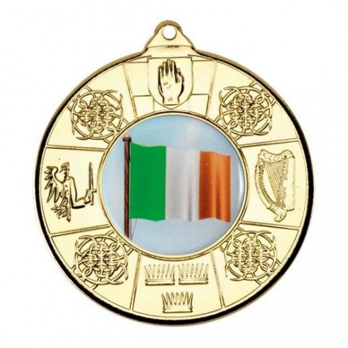 50mm Irish 4 Provinces Gold Medal
