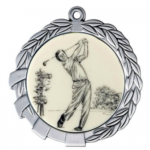 Silver Golf Medal MD01S-GF