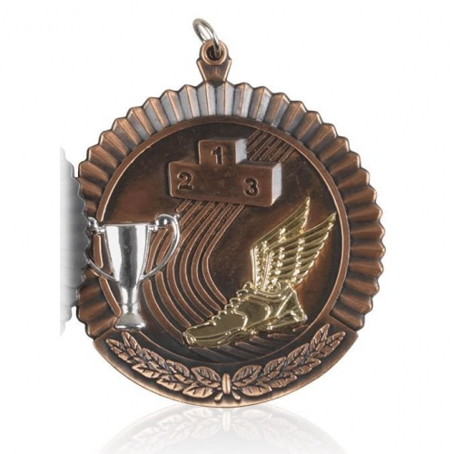 2in Bronze Athletics Medal