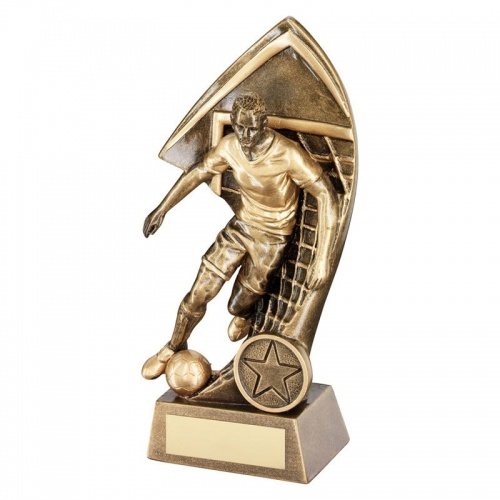 8.5in Resin Footballer Trophy RF140