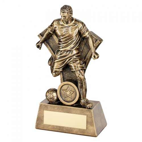 7.25in Resin Footballer Trophy RF160
