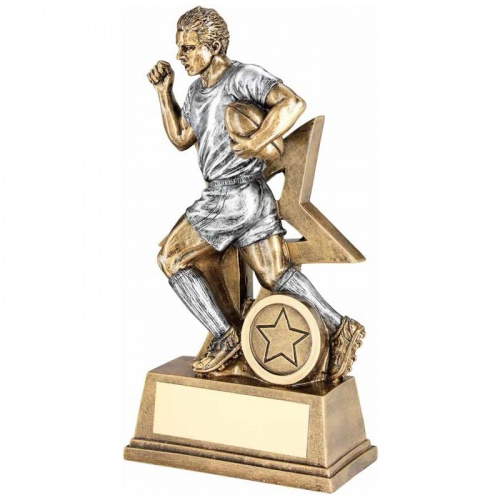 Resin Rugby Player Trophy RF174