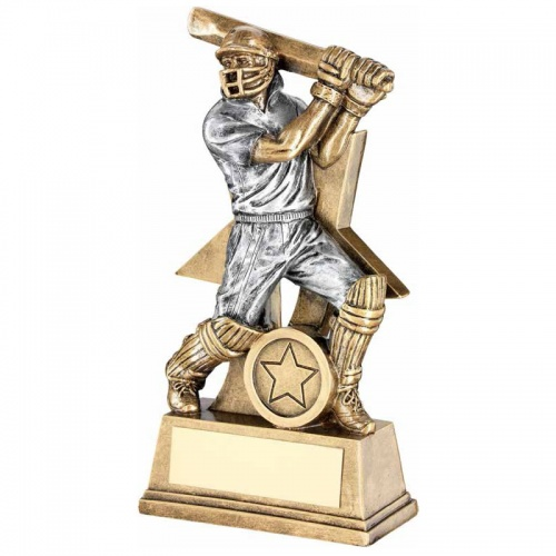 9in Cricket Batsman Trophy RF176