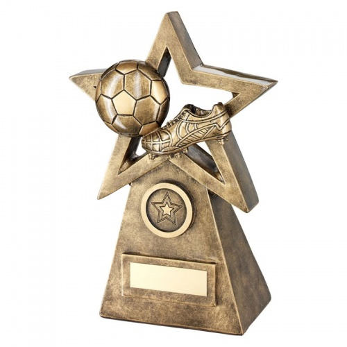 9.5in Football Star Trophy RF251