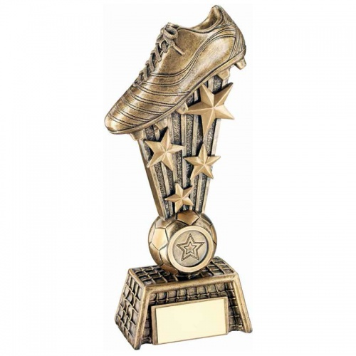 10.75in Football Golden Boot Trophy RF253