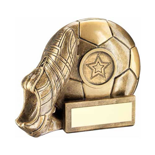 Bronze & Gold Football Award RF361