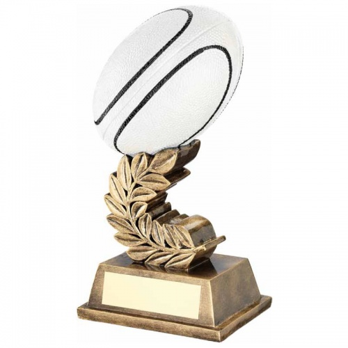 6.75in Resin Rugby Ball Trophy RF424