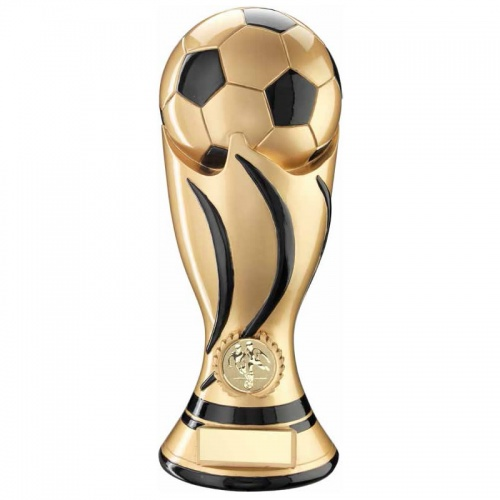 Resin Gold Football Trophy RF920