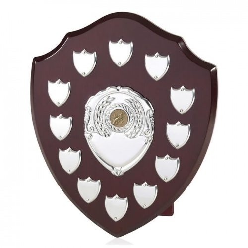12in Wood Awards Shield SVP