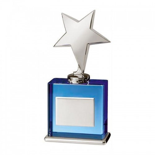 Blue Glass Star Award TZ017
