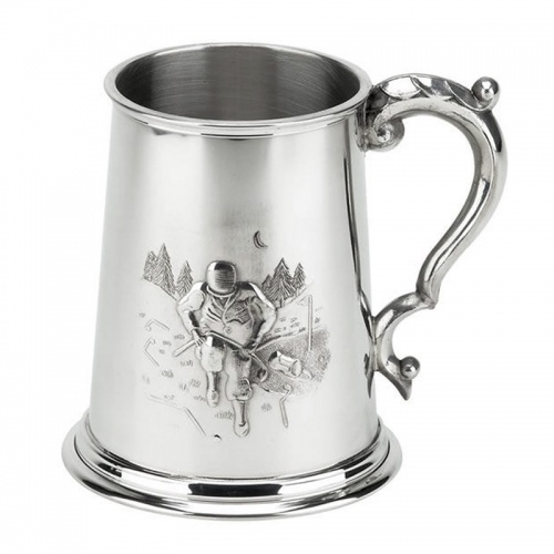 Pewter Golf Tankard - Angry Golfer