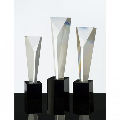 9.25in Geometric Crystal Award
