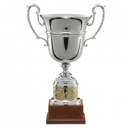Silver & Gold Plated Trophy Cup 1444