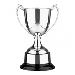 Silver Plated Trophy 372