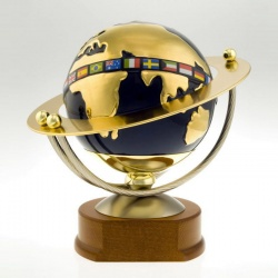 Gold Plated Globe Award