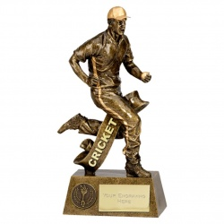 Cricket Fielder Figure Trophy