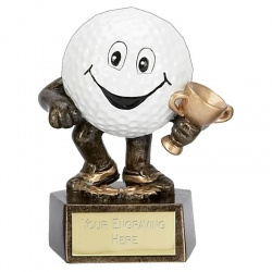 Novelty Golf Ball Winner Trophy