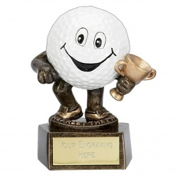 Novelty Golf Ball Nearest the Pin Trophy