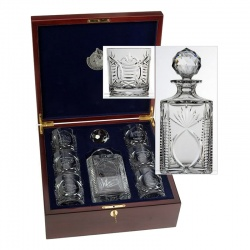 Boxed Spirit Decanter & Tumbler Set