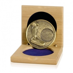 Gold Heavy Gauge Football Medals CGHM03