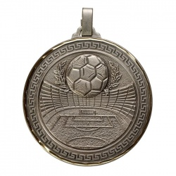 Universal Silver Football Medal