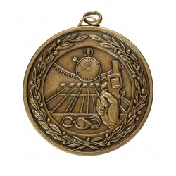 50mm Bronze Swimming Medal