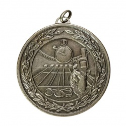50mm Silver Swimming Medal