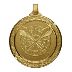 Universal Gold Darts Medal