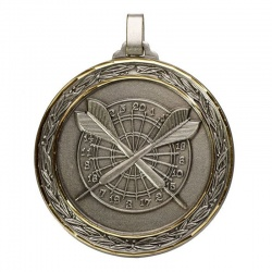 Universal Silver Darts Medal