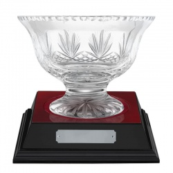 5.5in Crystal Presentation Bowl - Rushmore