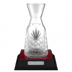 10.25in Lead Crystal Presentation Vase - Rialto