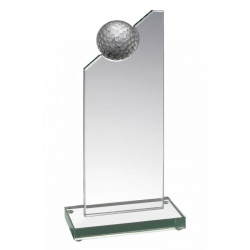 Glass Golf Plaque JOG010