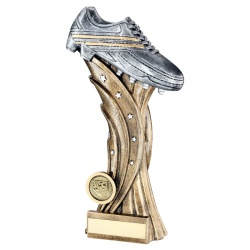 Football Silver Boot Trophy