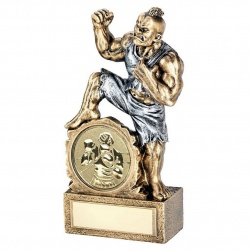 Resin Beast Figure Trophy with Boxing Insert