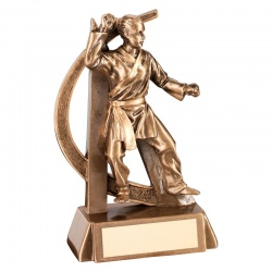 6in Female Martial Arts Trophy RF291