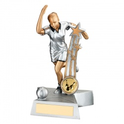 Tenpin Bowling Female Figure Trophy
