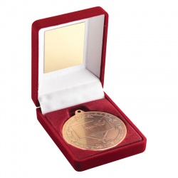 Bronze Finish Basketball Medals