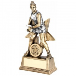 7in Netball Player Figure Trophy RF180
