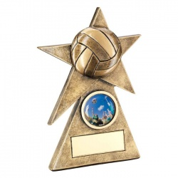 Resin Netball Star Trophy RF232