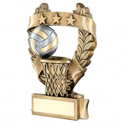 Resin Netball Laurel Garland Trophy