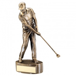 Gold Golf Figure Award RF321