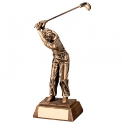 Resin Golf Figure Award RF421